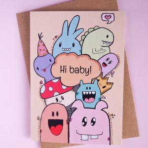 Geboorte: hi baby!