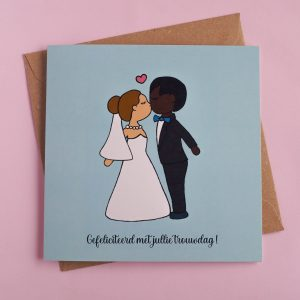 Gefeliciteerd met jullie trouwdag - optie 4